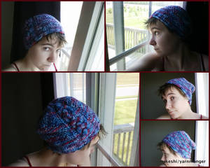 Gemstone Cabled Hat [Knitting]