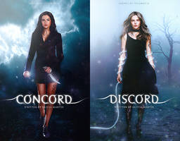 Concord + Discord | Wattpad Covers by newtalism