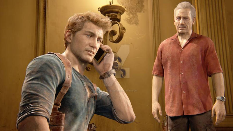 Uncharted Four Nate And Sully By Jillsparda1985 On Deviantart