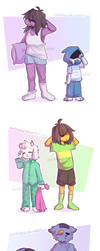 Good morning - Deltarune (fanart) by NoriTheLord