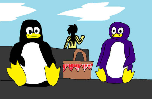 LINUX TWINE: Tux And Penny