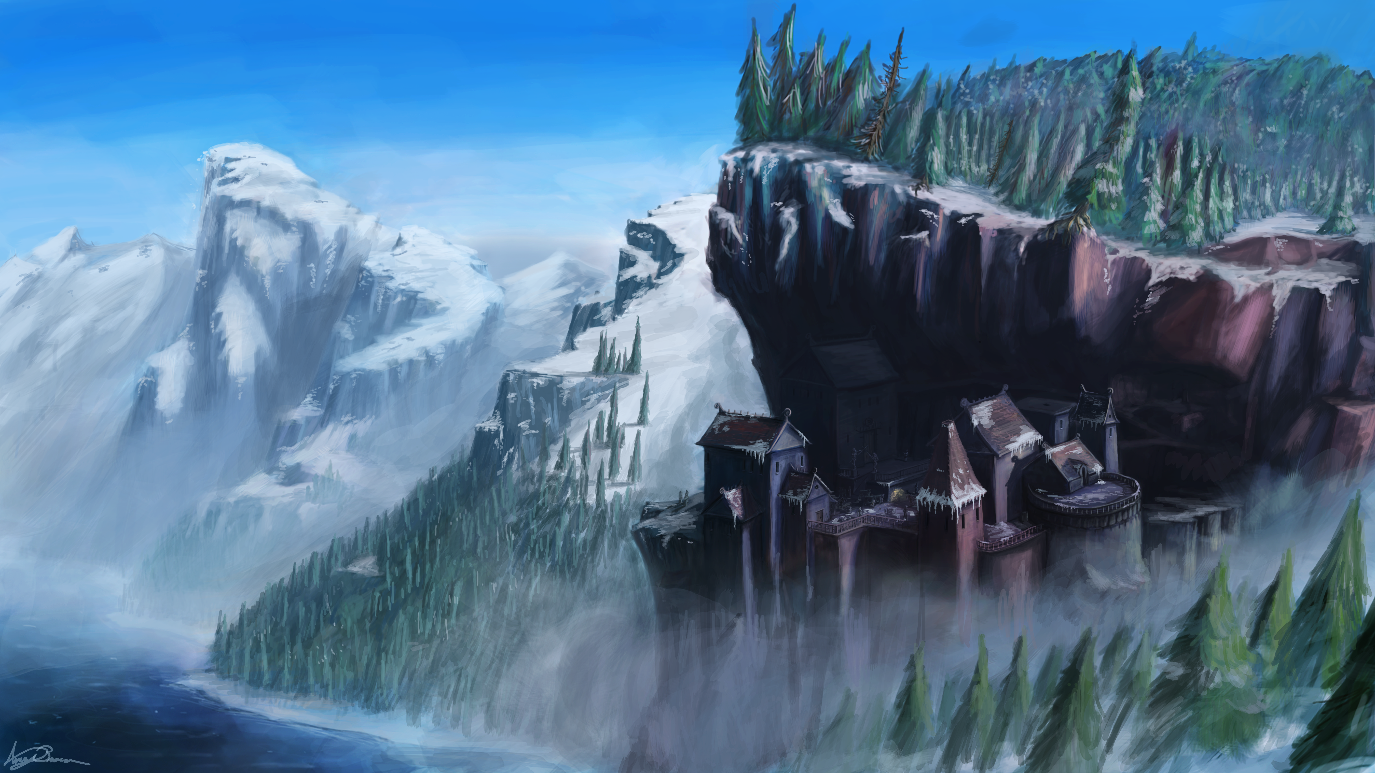 Cliff Village by theACB