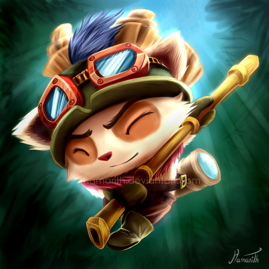 Teemo - League Of Legends by Hamarith on DeviantArt