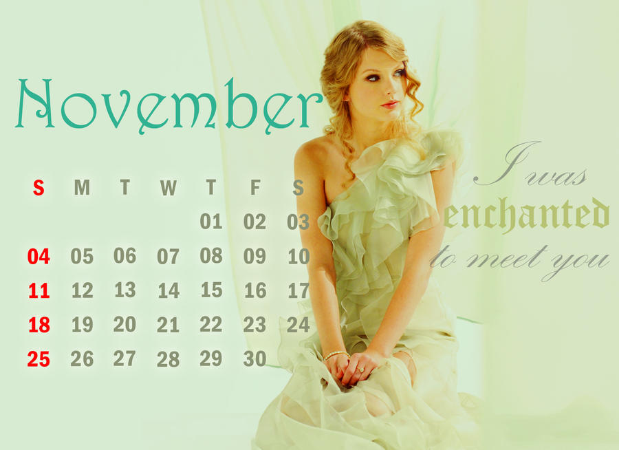 Taylor Swift 2012 Calendar Taylor Swift 2012 Calendar