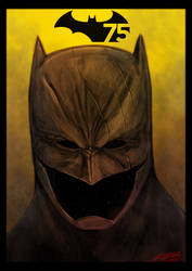 Batman 75 years by grifth