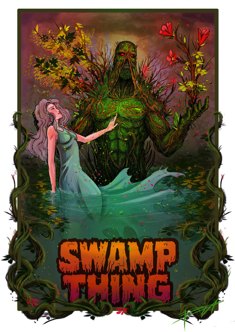 Swamp Thing by grifth