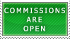 Commissions- Open Stamp by Icelilly