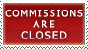 Commissions- Closed Stamp by Icelilly