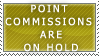 P. Commissions- On Hold Stamp by Icelilly