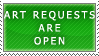 Art Requests- Open Stamp by Icelilly