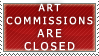 Art Commissions- Closed Stamp by Icelilly