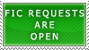Fic Requests- Open Stamp by Icelilly