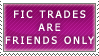 Fic Trades- FO Stamp by Icelilly