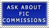Fic Commissions- Ask Stamp by Icelilly