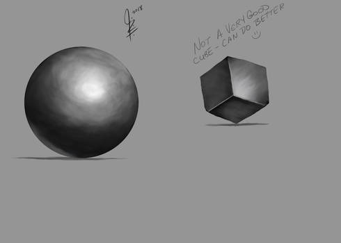 Sphere Cube Hardy Fowler Course