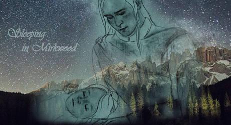 Thranduil:sleeping in  Mirkwood by LadyLadyK