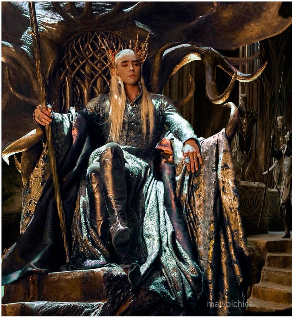 Bildergebnis für thranduil throne