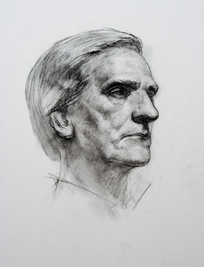 Portrait sitter Vladimir 2 by SergeiKrylov