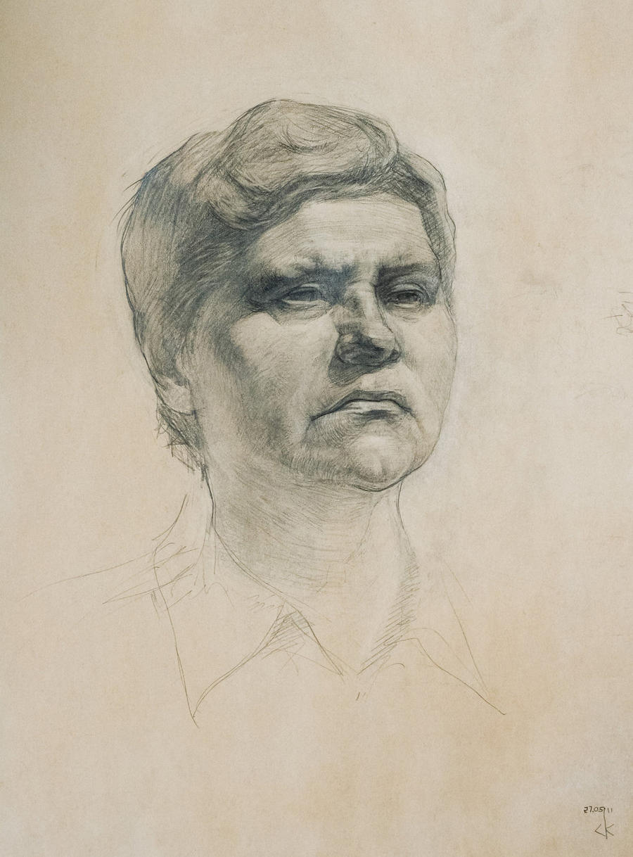 Portrait sitter Valentina 2 by SergeiKrylov