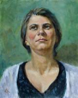 Portrait of Anna by SergeiKrylov
