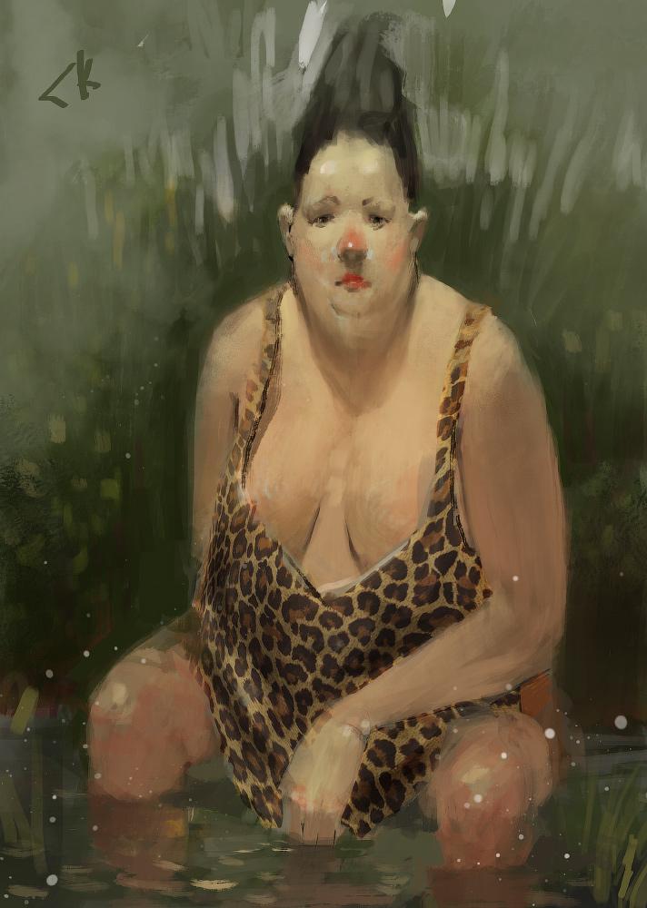 Princess of swamp by SergeiKrylov