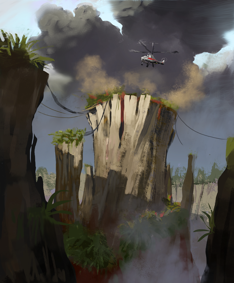 Forced landing by SergeiKrylov