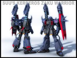 zaku warrior-suu's kerberos by Ladav01