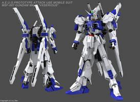 GUNDAM MK-III 'VXSERIOUS' by Ladav01