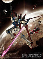 FORCE IMPULSE GUNDAM CG01 by Ladav01