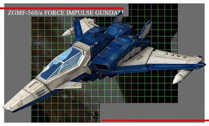 FORCE IMPULSE GUNDAM CG08 by Ladav01