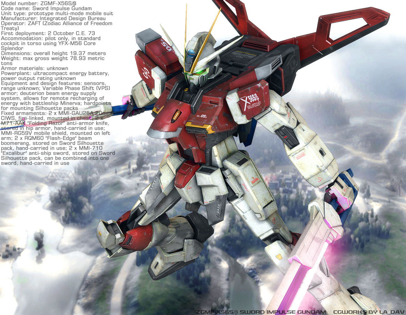 SWORD IMPULSE GUNDAM by Ladav01