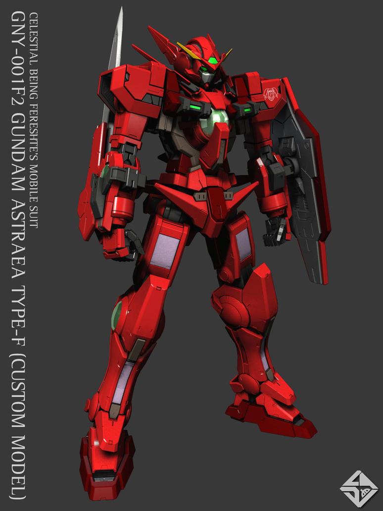 GNY-001F2 GUNDAM ASTRAEA by Ladav01