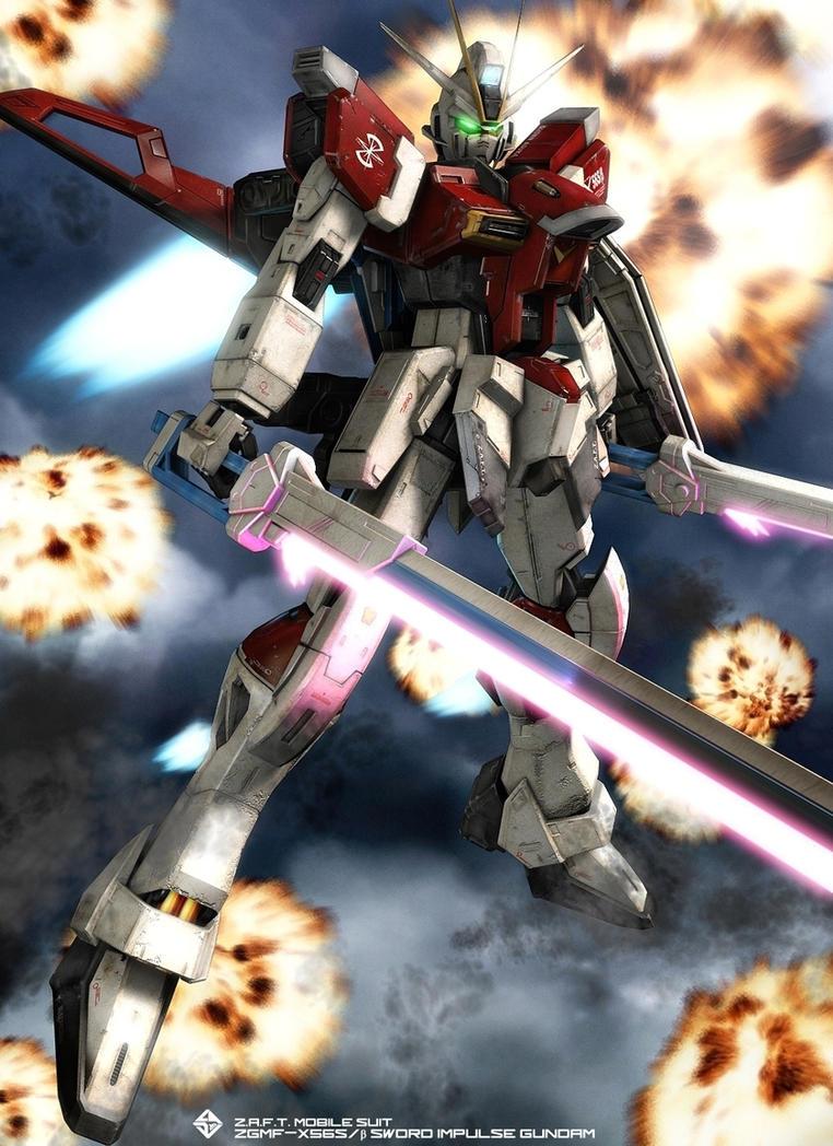 SWORD IMPULSE GUNDAM 02 by Ladav01