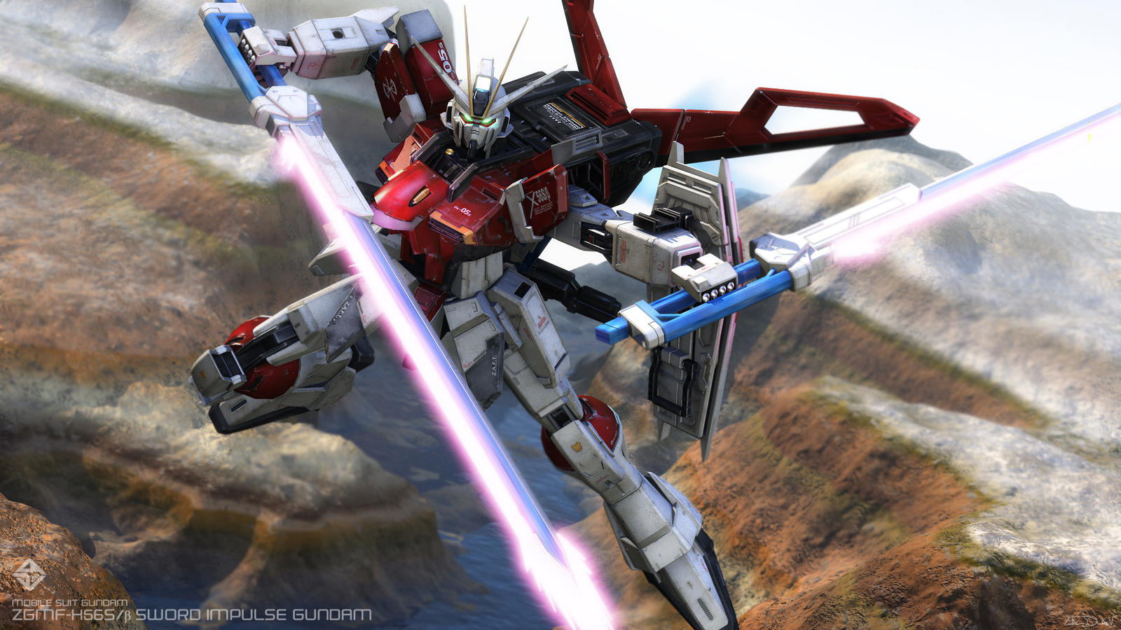 Cgtalk Force Impulse Gundam