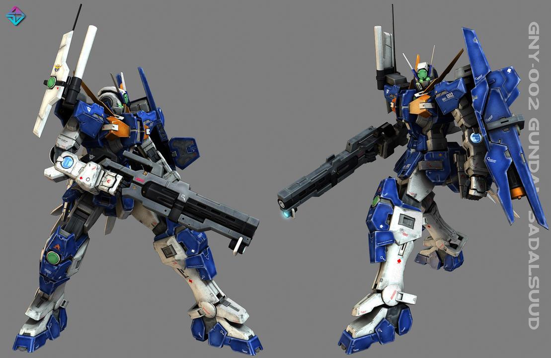 GNY-002  GUNDAM SADALSUUD by Ladav01