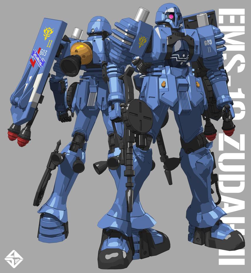 EMS-10 ZUDAH II by Ladav01