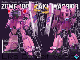 ZGMF-1000 ZAKU WARRIOR live by Ladav01