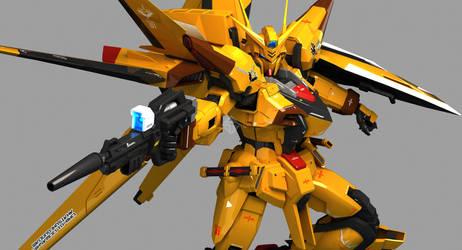 ORB-01 Akatsuki Gundam Oowashi Sky Pack by Ladav01