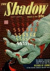 The Shadow - Wizard of Crime cover by SavageScribe