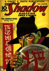 The Shadow - The Chinese Disks cover by SavageScribe