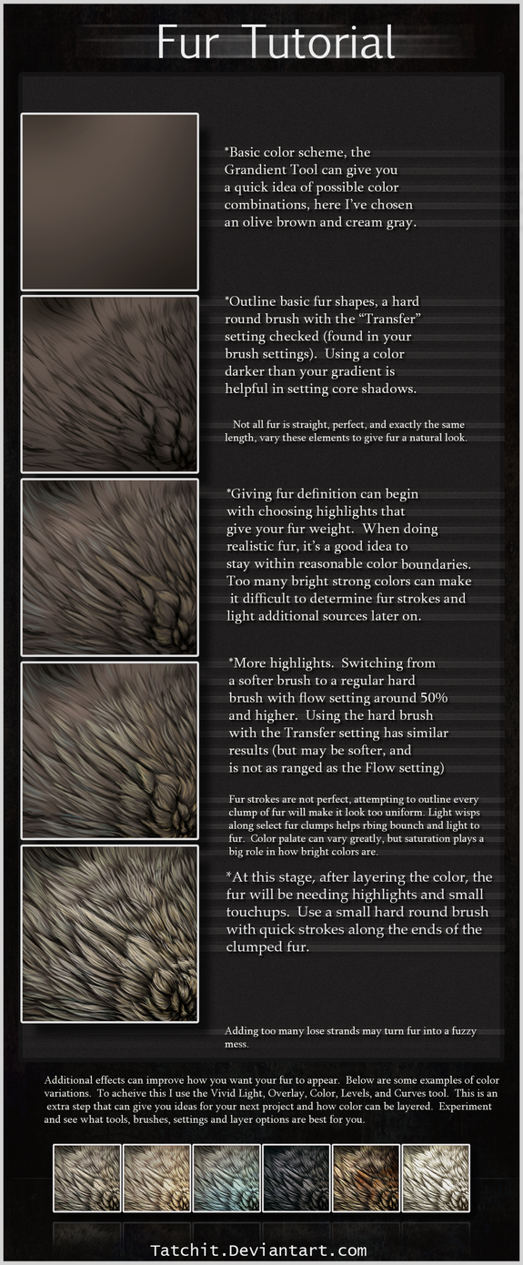 Fur Tutorial by Tatchit