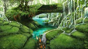 Lupinar's Waterfall