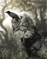 Gargoyle by NukeRooster