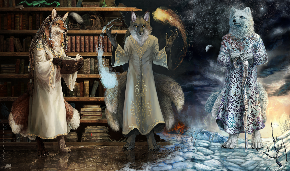 Triptych by Tatchit