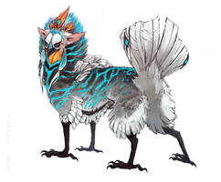 Featherbutt design