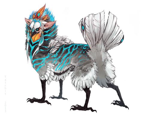 Featherbutt design