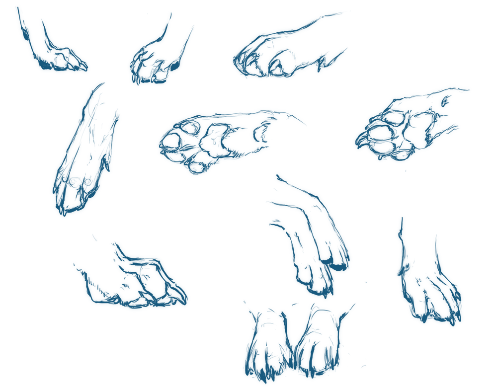 Paws ya\'ll by NukeRooster on DeviantArt