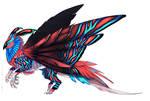 Brilliant Moth-Owl design