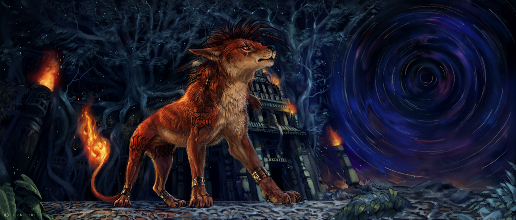 Red XIII by NukeRooster