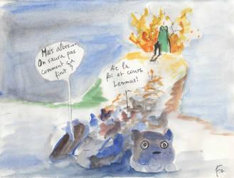 Lemings versus Monstres marins en feu 12